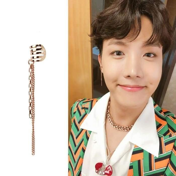 BTS J-Hope IDOL MV Fashion Earring Gotamochi BTS MERCH BT21 MERCH KAWAII STORE