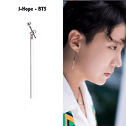 BTS Jhope Industry Earring 1pcs Gotamochi BTS MERCH BT21 MERCH KAWAII STORE