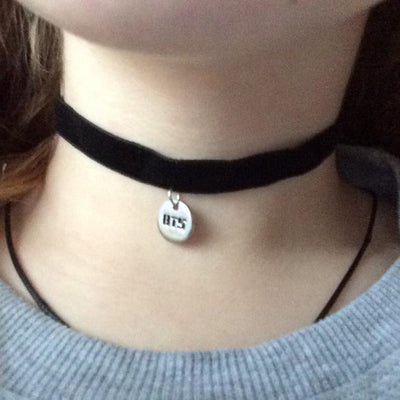 BTS Leather Choker Gotamochi BTS MERCH BT21 MERCH KAWAII STORE