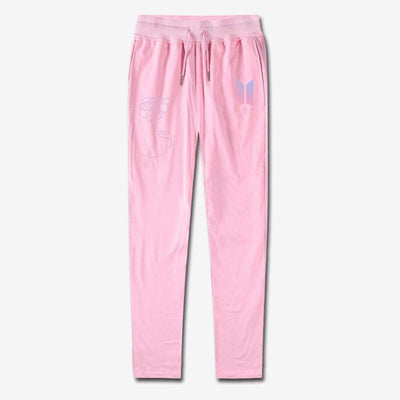 BTS Love Yourself Sweatpants Pink / 4XL Gotamochi BTS MERCH BT21 MERCH KAWAII STORE