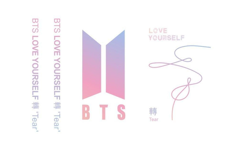 BTS Love Yourself: Tear Aesthetics Army Hoodie Gotamochi BTS MERCH BT21 MERCH KAWAII STORE