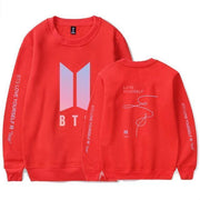 BTS Love Yourself: Tear Pastel Pullover red / S Gotamochi BTS MERCH BT21 MERCH KAWAII STORE