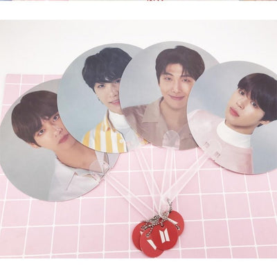 BTS Love Yourself World Tour Concert Fan (All Members) [Limited Edition] - GOTAMOCHI KPOP BTS MERCH KAWAII Shop - Jewelry Findings & Components