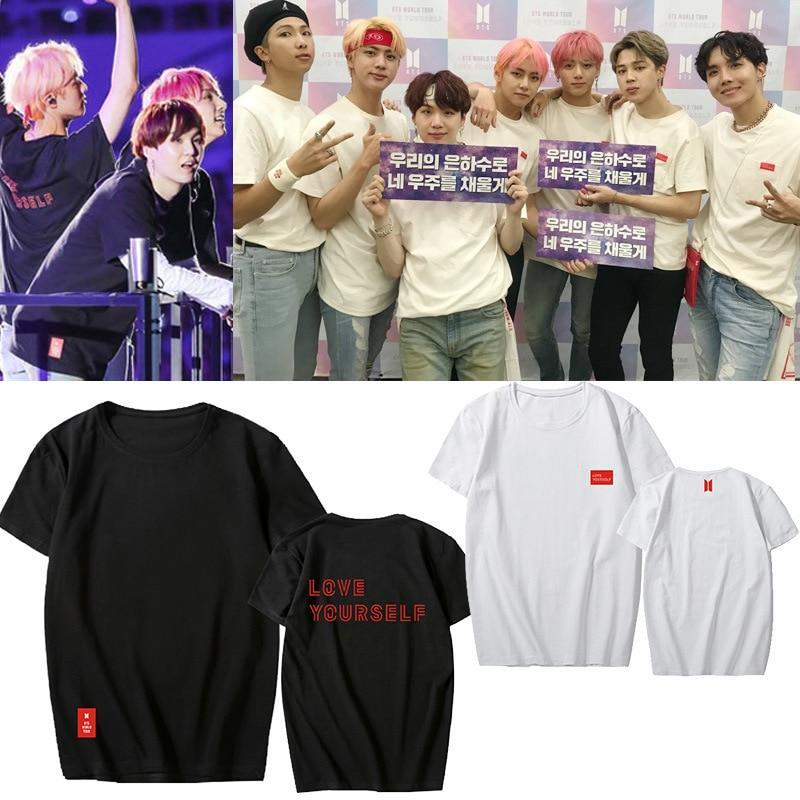 BTS Love Yourself World Tour Concert Tear Tee [Limited Edition] Gotamochi BTS MERCH BT21 MERCH KAWAII STORE