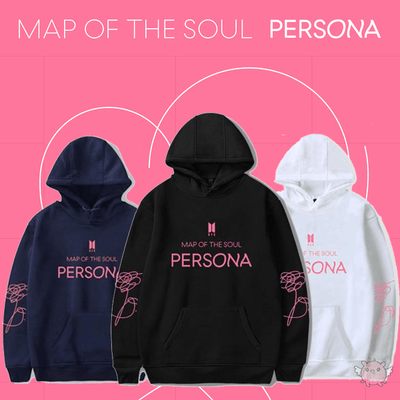 BTS Map Of The Soul Persona Aesthetics Hoodie Gotamochi BTS MERCH BT21 MERCH KAWAII STORE