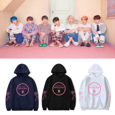 BTS Map Of The Soul Persona Album Hoodie Gotamochi BTS MERCH BT21 MERCH KAWAII STORE