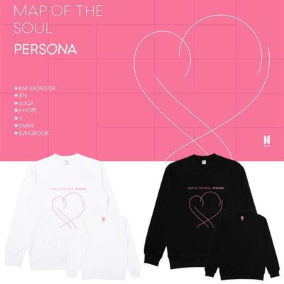 BTS Map Of The Soul Persona Album Sweatshirt Gotamochi BTS MERCH BT21 MERCH KAWAII STORE
