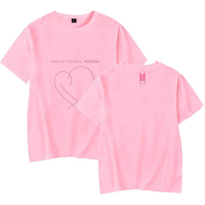 BTS Map Of The Soul Persona Album T-Shirt - GOTAMOCHI KPOP BTS MERCH KAWAII Shop - T-Shirts