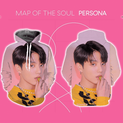 BTS Map Of The Soul Persona Concept Bias Hoodie [Limited Edition] - GOTAMOCHI KPOP BTS MERCH KAWAII Shop -