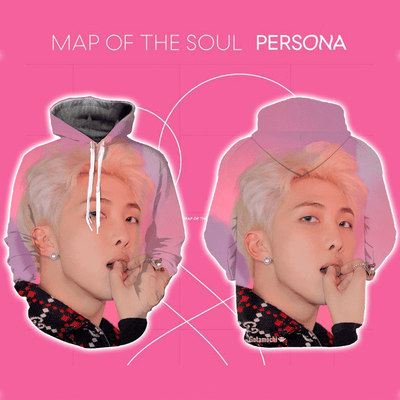 BTS Map Of The Soul Persona Concept Bias Hoodie [Limited Edition] XXS / RM Rap Monster Hoodie Gotamochi BTS MERCH BT21 MERCH KAWAII STORE