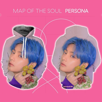 BTS Map Of The Soul Persona Concept Bias Hoodie [Limited Edition] XXS / V Hoodie Gotamochi BTS MERCH BT21 MERCH KAWAII STORE