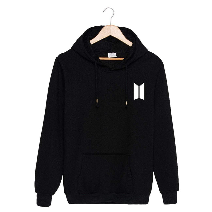BTS Season's Greetings Hoodie Black / M Gotamochi BTS MERCH BT21 MERCH KAWAII STORE