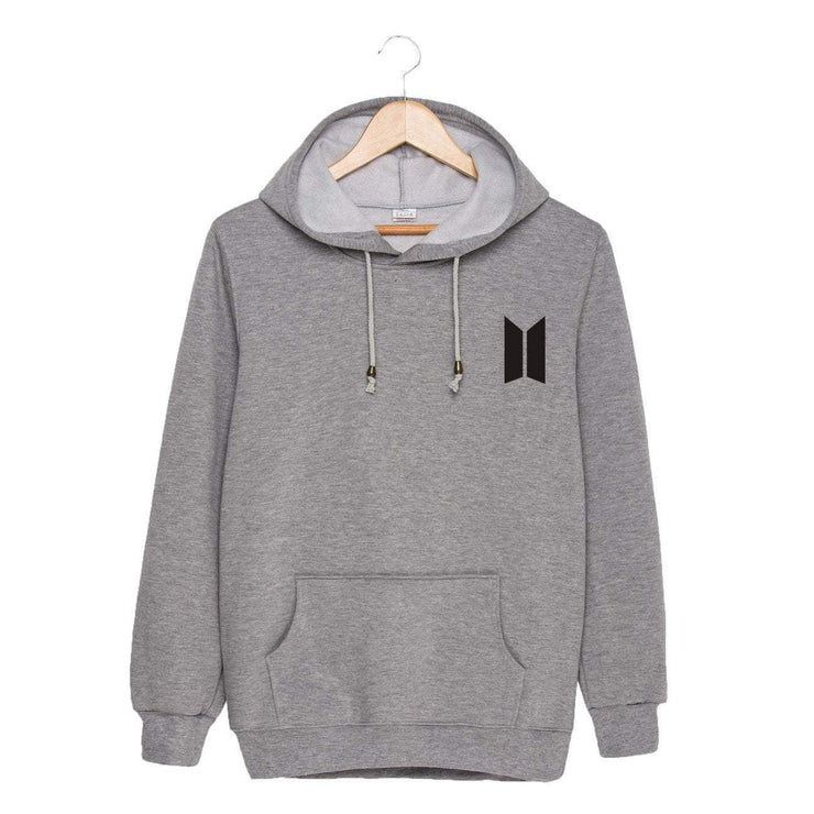 BTS Season's Greetings Hoodie Gray / M Gotamochi BTS MERCH BT21 MERCH KAWAII STORE