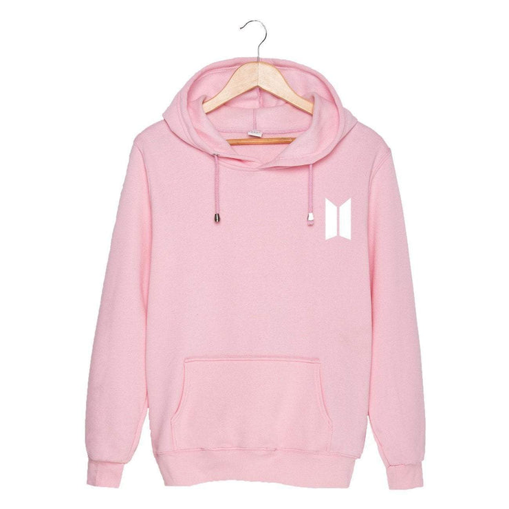 BTS Season's Greetings Hoodie Pink / M Gotamochi BTS MERCH BT21 MERCH KAWAII STORE