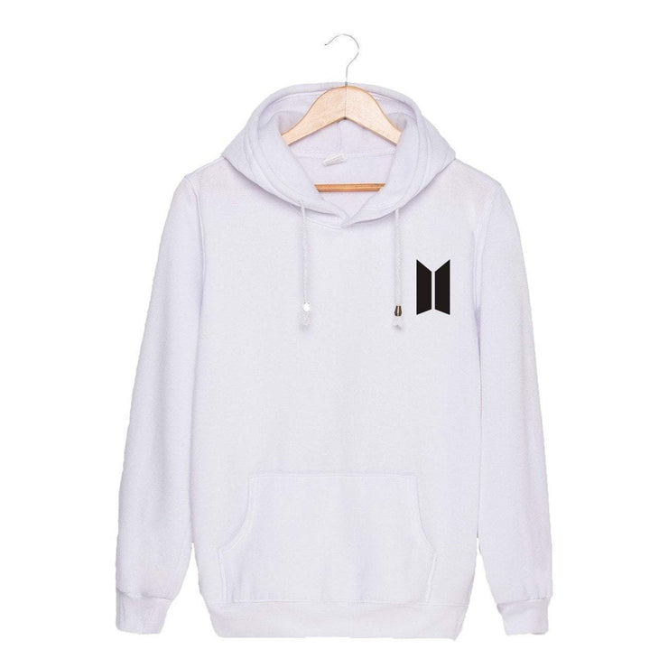 BTS Season's Greetings Hoodie White / M Gotamochi BTS MERCH BT21 MERCH KAWAII STORE