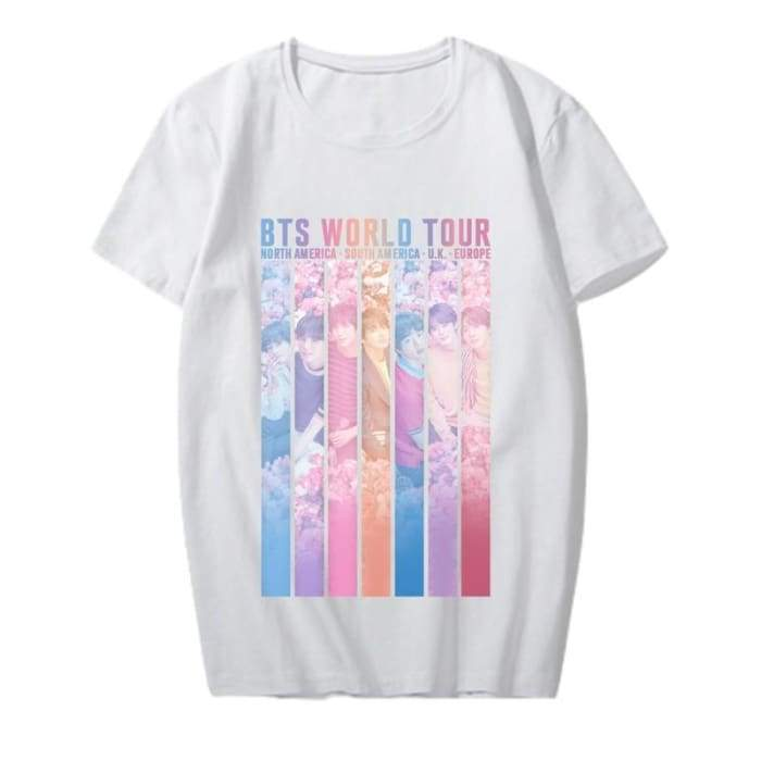 BTS Speak Yourself Member World Tour T-shirt - GOTAMOCHI KPOP BTS MERCH KAWAII Shop - T-shirt