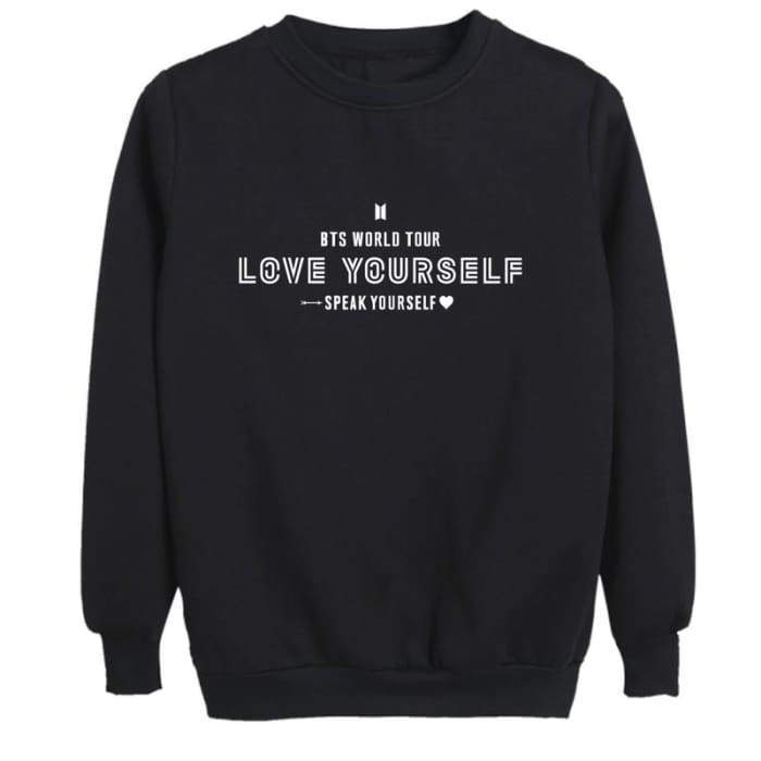 BTS Speak Yourself World Tour Sweatshirt - GOTAMOCHI KPOP BTS MERCH KAWAII Shop - Sweatshirt