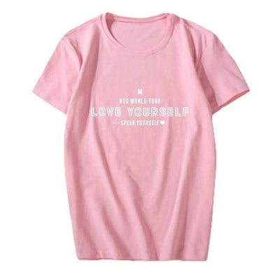 BTS Speak Yourself World Tour T-shirt - GOTAMOCHI KPOP BTS MERCH KAWAII Shop - T-shirt