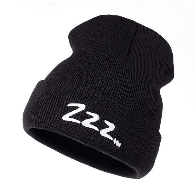 "BTS Suga ""Zzz..."" Beanie Black Gotamochi BTS MERCH BT21 MERCH KAWAII STORE"