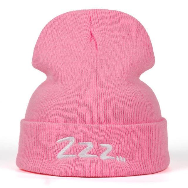"BTS Suga ""Zzz..."" Beanie Pink Gotamochi BTS MERCH BT21 MERCH KAWAII STORE"