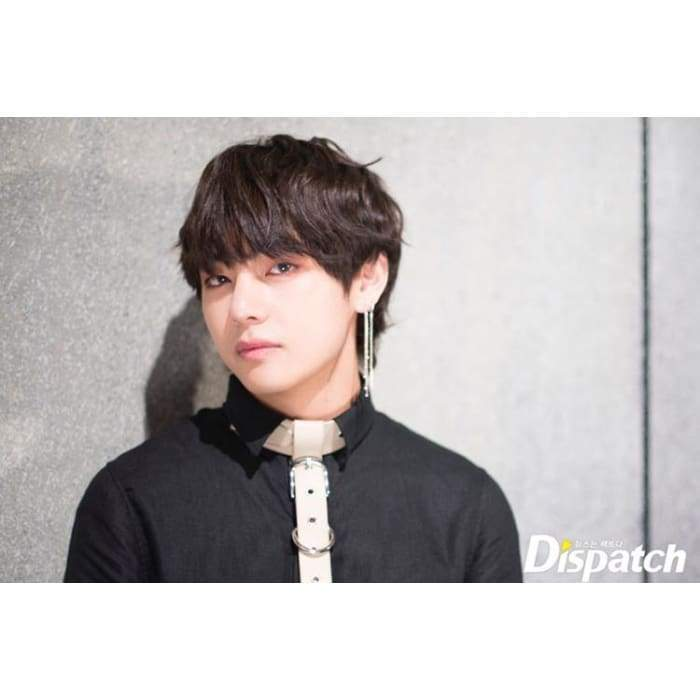 BTS Taehyung Singularity Fashion Chain Earring Gotamochi BTS MERCH BT21 MERCH KAWAII STORE