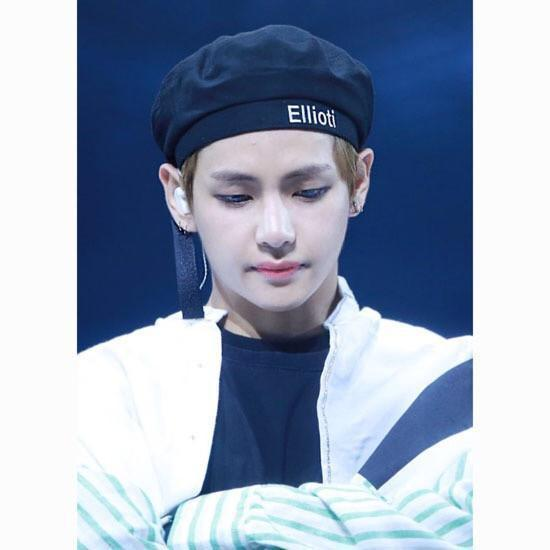 BTS V Taehyung Ellioiti Beret Gotamochi BTS MERCH BT21 MERCH KAWAII STORE