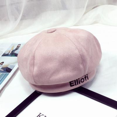 BTS V Taehyung Ellioiti Beret Pink Gotamochi BTS MERCH BT21 MERCH KAWAII STORE