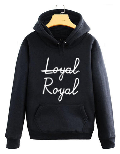 BTS V Taehyung Not Loyal, Royal Hoodie - GOTAMOCHI KPOP BTS MERCH KAWAII Shop - Hoodies & Sweatshirts