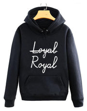 BTS V Taehyung Not Loyal, Royal Hoodie Black / S Gotamochi BTS MERCH BT21 MERCH KAWAII STORE