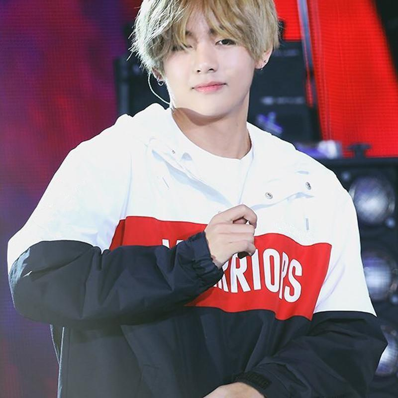 BTS V Taehyung Warriors Windbreaker