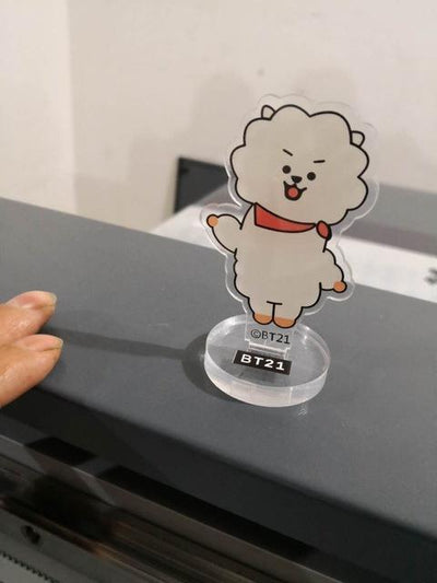 BTS x BT21 Army Figure Stand - GOTAMOCHI KPOP BTS MERCH KAWAII Shop -