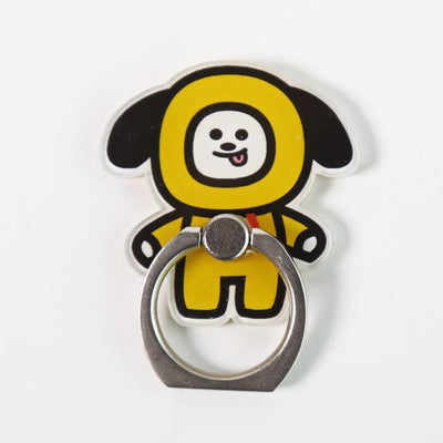 BTS x BT21 Cartoon Ring Phone Holder CHIMMY Gotamochi BTS MERCH BT21 MERCH KAWAII STORE