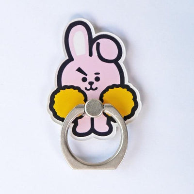 BTS x BT21 Cartoon Ring Phone Holder COOKY Gotamochi BTS MERCH BT21 MERCH KAWAII STORE