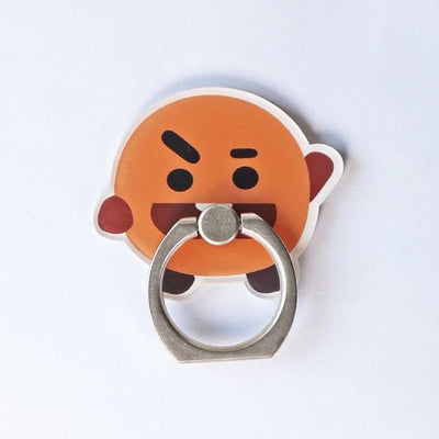 BTS x BT21 Cartoon Ring Phone Holder SHOOKY Gotamochi BTS MERCH BT21 MERCH KAWAII STORE