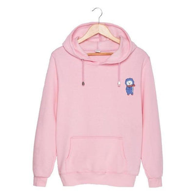 BTS x BT21 Christmas Hoodie Rj-Pink / S Gotamochi BTS MERCH BT21 MERCH KAWAII STORE