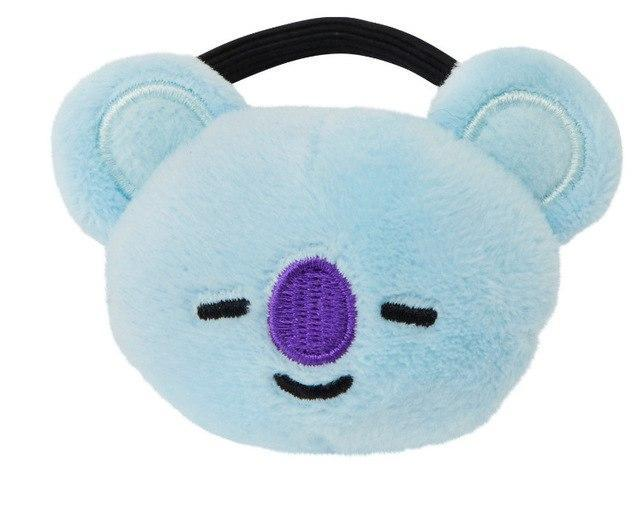 BTS x BT21 Headbands Koya / Hair Tie Gotamochi BTS MERCH BT21 MERCH KAWAII STORE