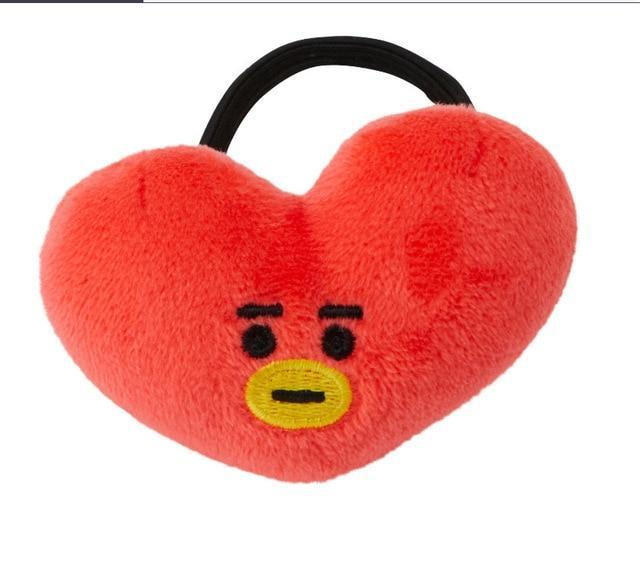 BTS x BT21 Headbands Tata / Hair Tie Gotamochi BTS MERCH BT21 MERCH KAWAII STORE