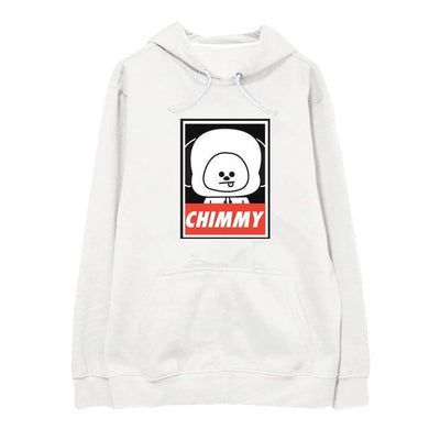 "BTS x BT21 ""Wanted"" Hoodie CHIMMY / S Gotamochi BTS MERCH BT21 MERCH KAWAII STORE"