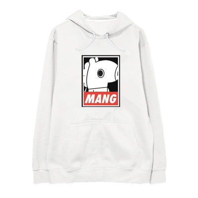 "BTS x BT21 ""Wanted"" Hoodie MANG / S Gotamochi BTS MERCH BT21 MERCH KAWAII STORE"