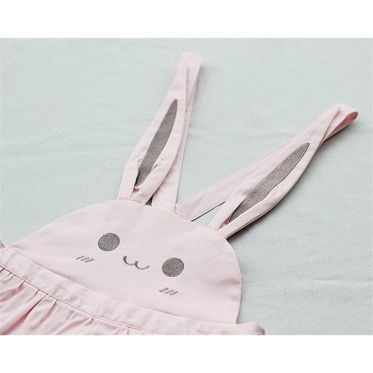 Bunny Ears Overall Shorts Adjustable Kawaii Jumpsuit Gotamochi BTS MERCH BT21 MERCH KAWAII STORE