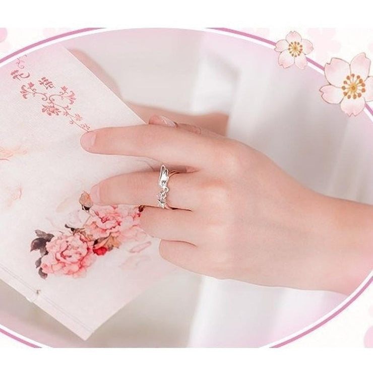 CardCaptor Sakura Ring 925 Sterling Silver Ring Gotamochi BTS MERCH BT21 MERCH KAWAII STORE