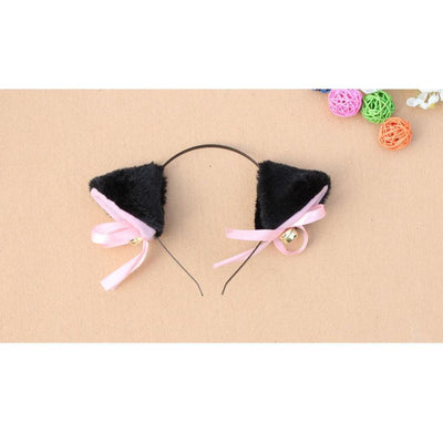 Cosplay Neko Kitten Ears with Bell Hairclip Gotamochi BTS MERCH BT21 MERCH KAWAII STORE