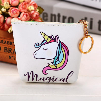 Cute Unicorn Coin Purse - GOTAMOCHI KPOP BTS MERCH KAWAII Shop - Coin Purses