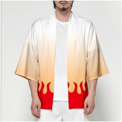Demon Slayer Kimono Jacket Anime Cosplay Costume Style 9 / XXS Gotamochi BTS MERCH BT21 MERCH KAWAII STORE
