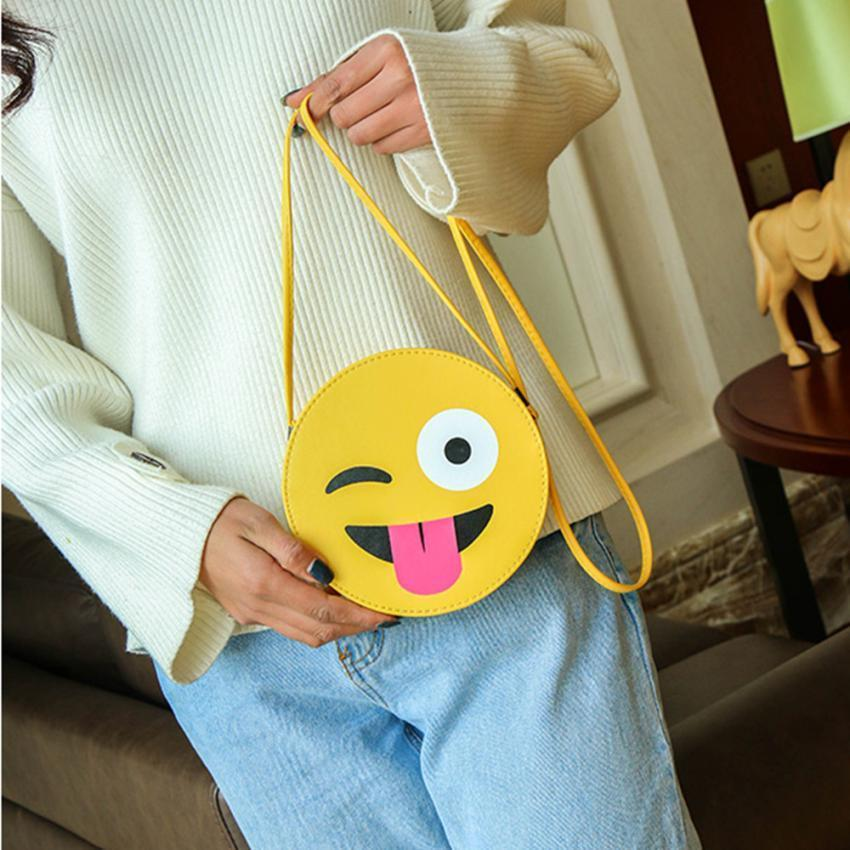 emoji shoulder bag sky blue gotamochi btsmerch kawaiiclothes