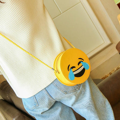 Emoji Shoulder Bag - GOTAMOCHI KPOP BTS MERCH KAWAII Shop - Shoulder Bags