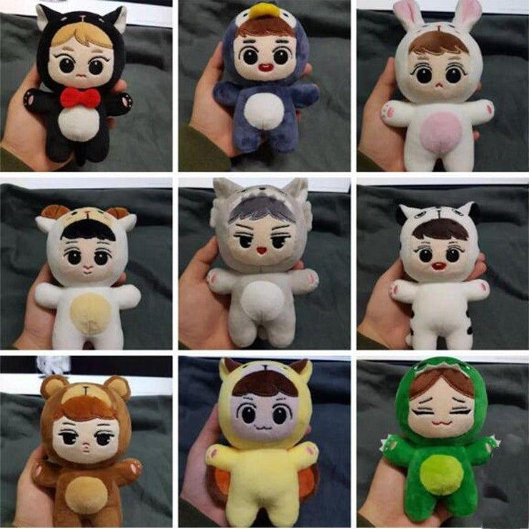 EXO Animal Plush Doll Gotamochi BTS MERCH BT21 MERCH KAWAII STORE