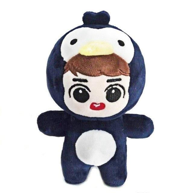 EXO Animal Plush Doll B D.O. Gotamochi BTS MERCH BT21 MERCH KAWAII STORE