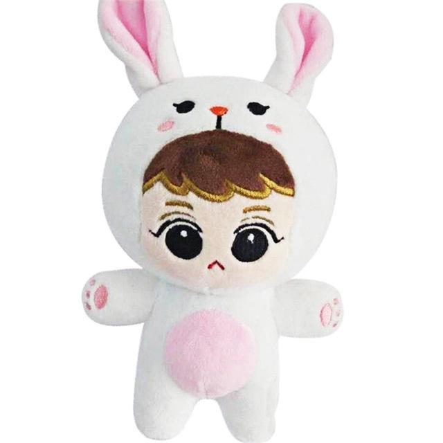 EXO Animal Plush Doll C SU HO Gotamochi BTS MERCH BT21 MERCH KAWAII STORE