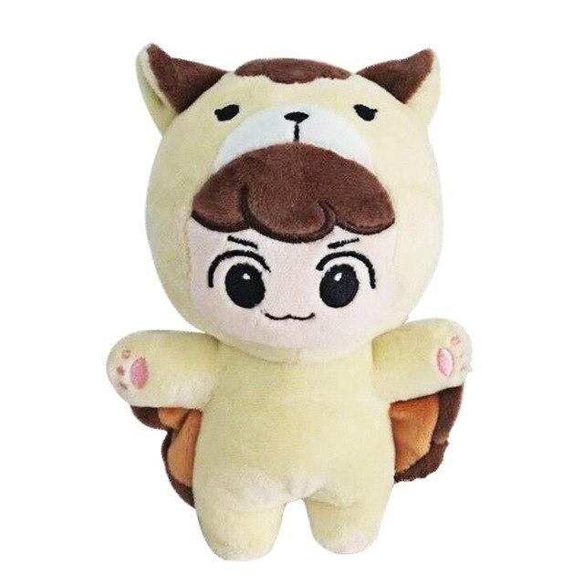 EXO Animal Plush Doll H BAEK HYUN Gotamochi BTS MERCH BT21 MERCH KAWAII STORE